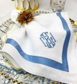 Matouk Monogrammed Table Linens