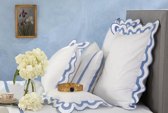 Matouk Mirasol Monogrammed Bedding Collection