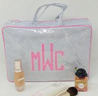 Handled Zip Cosmetic Cases Choice of 3 Sizes