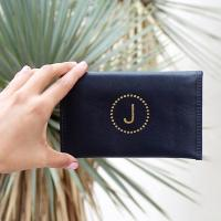 Boulevard Emma Leather Mini Wallet