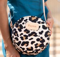 Luna Round Jon Hart Personalized Crossbody Purse