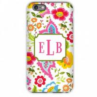 Personalized iPhone Case Bright Floral