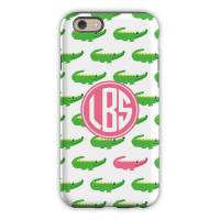 Personalized iPhone Case Alligator Repeat