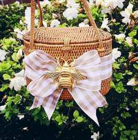 Savannah Baby Bali Bag Bow