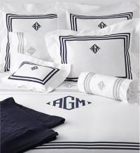 Matouk Newport Duvet Cover Full Queen No Monogram
