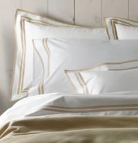 Matouk Meridian King Pillow Cases Pair with No Monogram