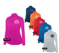 Monogrammed Ladies Lightweight Pullover