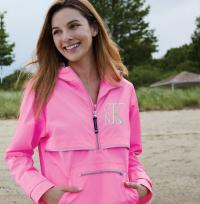 Pullover Rain Jacket Monogrammed by Charles River