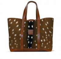 Barrington St. Charles Yacht Tote Fall Leather Patch