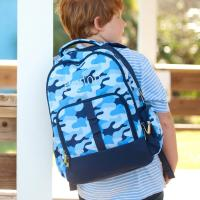 Personalized Cool Camo Backpack