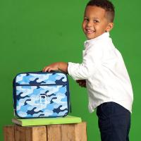Personalized Cool Camo Lunch Box