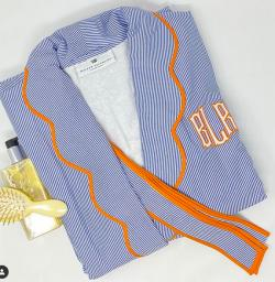 Monogrammed Bespoke Robes and Pajamas Gallery_951 NULL