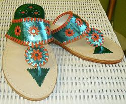 Miami Dolphins fan colors  Miami Dolphins fan sandals NULL