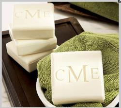 "Monogrammed Soaps as Seen in ""O"" Magazine Monogrammed Soaps Health & Beauty > Personal Care > Cosmetics > Bath & Body > Bar Soap"