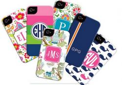Personalized Tough Cases for all Iphones Monogrammed Cell Phones Cases from Boatman Gellars NULL