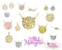The Pink Monogram Jewelry Wholesale Gallery  The Pink Monogram Jewelry Wholesale NULL
