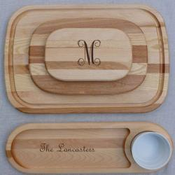 Monogrammed Wooden Cutting Boards Monogrammed Wooden Cutting Boards NULL