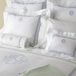 Matouk Classic Chain Monogrammed  Bedding Collection Matouk Classic Chain Monogrammed  Bedding Collection Home & Garden > Linens & Bedding > Bedding