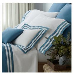 Matouk Allegro Monogrammed Luxury Bedding Collection  Matouk Allegro Monogrammed Luxury Bedding Collection  Home & Garden > Linens & Bedding > Bedding