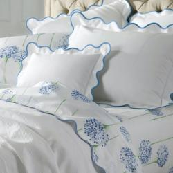 Matouk Lanai Monogrammed Scalloped Bedding Collection Matouk Lanai Monogrammed Scalloped Bedding Collection Home & Garden > Linens & Bedding