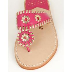 Linaria with Gold Palm Beach Sandals Linaria with Gold Apparel & Accessories > Shoes > Sandals > Thongs & Flip-Flops