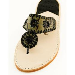 Taupe Croc with Black Palm Beach Sandals Taupe Croc with Black Apparel & Accessories > Shoes > Sandals > Thongs & Flip-Flops