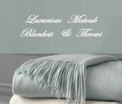 Matouk Luxury Blankets and Throws  Matouk Luxury Blankets and Throws NULL