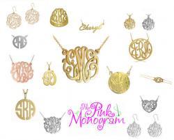 Wholesale  request sign up for The Pink Monogram Jewelry Line and Monogrammed Clogs  Wholesale Information NULL