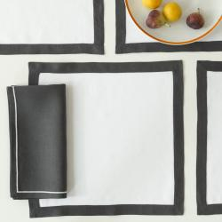 Matouk Irish Linen Square Placemats Matouk Irish Linen Square Placemats Home & Garden > Linens & Bedding > Table Linens > Placemats