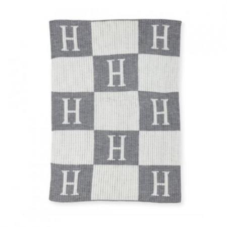 hermes inspried knit blanket