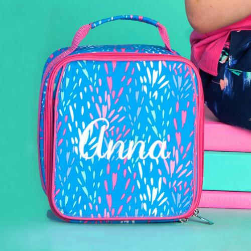 Personalized Sparktacular Lunch Box  Home & Garden > Kitchen & Dining > Food & Beverage Carriers > Lunch Boxes & Totes