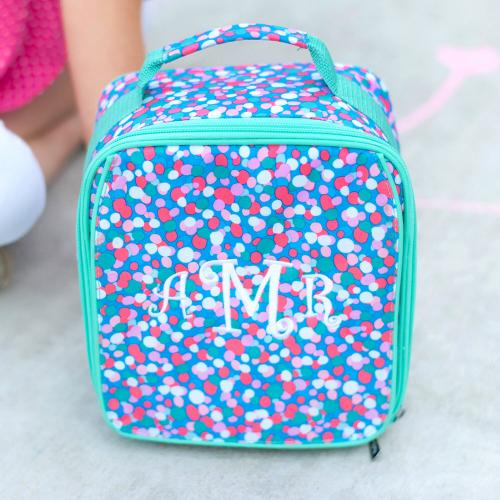 Personalized Confetti Pop Lunch Box  Home & Garden > Kitchen & Dining > Food & Beverage Carriers > Lunch Boxes & Totes