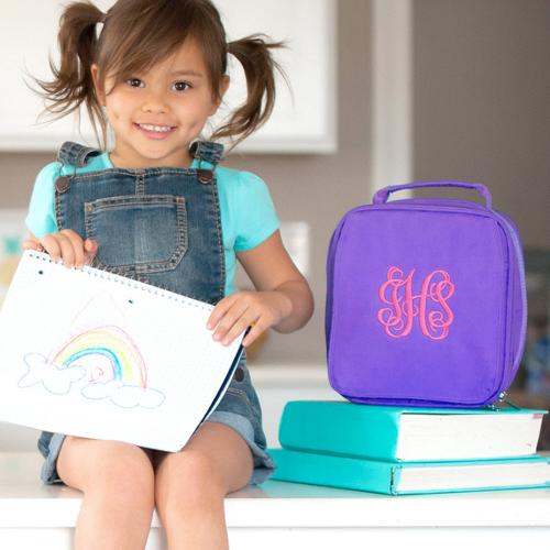 Personalized Purple Lunch Box  Home & Garden > Kitchen & Dining > Food & Beverage Carriers > Lunch Boxes & Totes