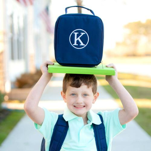 Personalized Navy Lunch Box  Home & Garden > Kitchen & Dining > Food & Beverage Carriers > Lunch Boxes & Totes