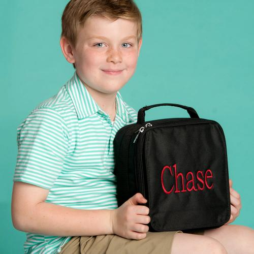 Personalized Black Lunch Box  Home & Garden > Kitchen & Dining > Food & Beverage Carriers > Lunch Boxes & Totes