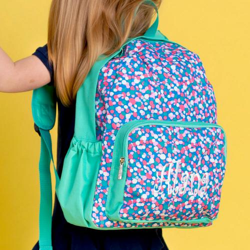 Personalized Confetti Pop Backpack  Luggage & Bags > Backpacks