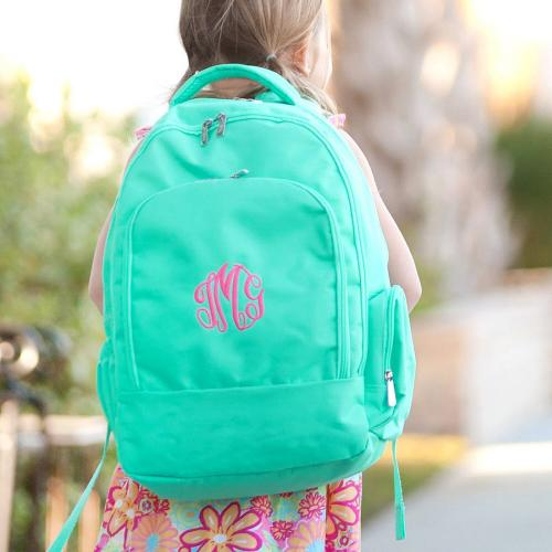 Personalized Mint Backpack  Luggage & Bags > Backpacks