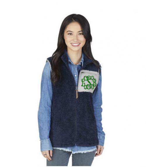 Monogrammed Charles River Newport Vest  Apparel & Accessories > Clothing > Outerwear > Vests