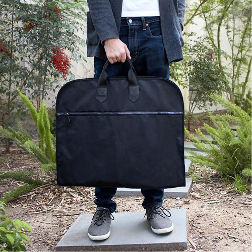 Boulevard Grant Canvas Garment Cover Monogrammed  Luggage & Bags > Business Bags > Garment Bags