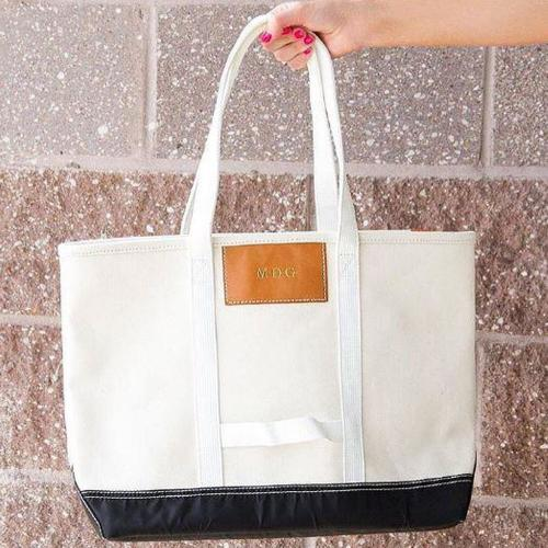Boulevard Canvas Finn Tote  Luggage & Bags > Shopping Totes