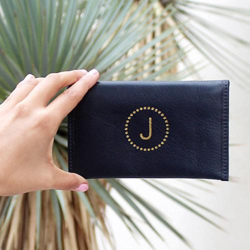 Boulevard Emma Leather Mini Wallet  Apparel & Accessories > Clothing Accessories > Wallets & Money Clips