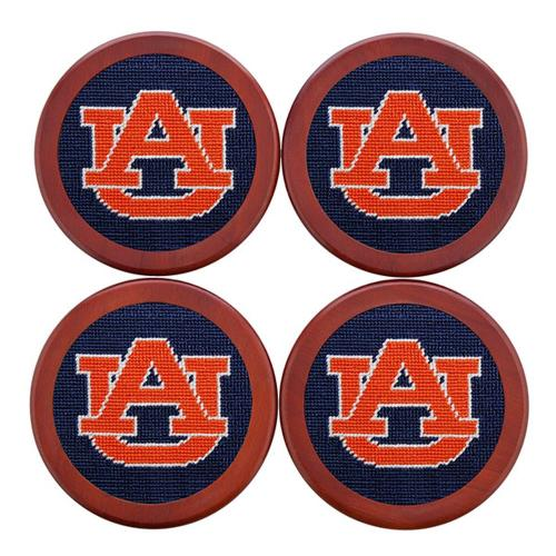 Smathers and Branson Auburn Needlepoint Coaster Set Smathers and Branson Auburn Needlepoint Coaster Set Home & Garden > Kitchen & Dining > Barware > Coasters
