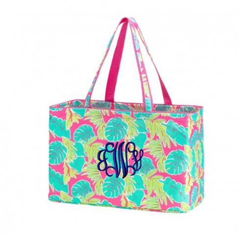 Personalized Totally Tropics Ultimate Tote  Home & Garden > Household Supplies > Storage & Organization > Utility Baskets