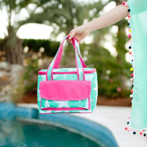 Personalized Sea Star Cooler Tote  Home & Garden > Kitchen & Dining > Food & Beverage Carriers > Coolers