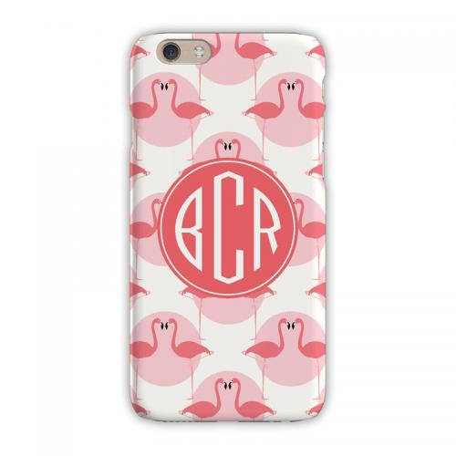 Personalized Clairebella Flamingos iPhone Case  Electronics > Communications > Telephony > Mobile Phone Accessories > Mobile Phone Cases