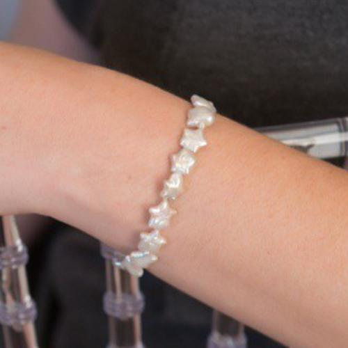 Pearl Star Power Stretch Bracelet  Apparel & Accessories > Jewelry > Bracelets