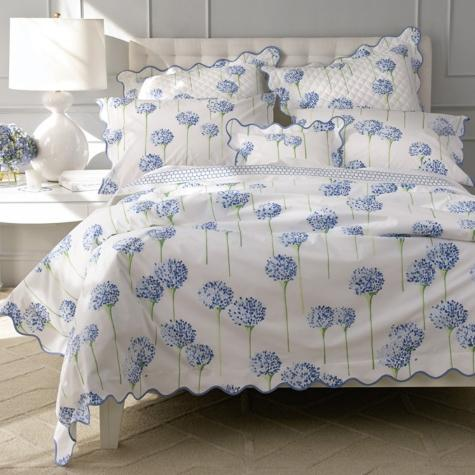 Matouk Charlotte by Lulu DK Azure and Lavender Charlotte by LuLu DK MAaouk Home & Garden > Linens & Bedding > Bedding