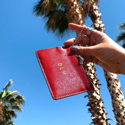 Boulevard Ivy Leather ID Holder  Apparel & Accessories > Handbags, Wallets & Cases