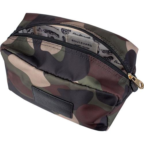 Boulevard Personalized Camo Winnie Large Utility Pouch  Luggage & Bags > Luggage Accessories > Travel Pouches
