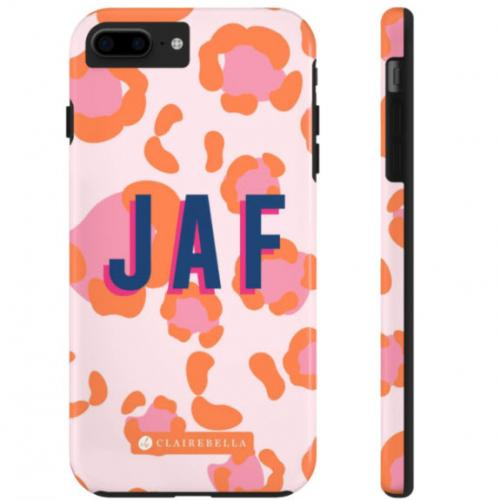 Personalized Spots Pink iPhone Case  Electronics > Communications > Telephony > Mobile Phone Accessories > Mobile Phone Cases